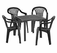 Комплект садовый Fiocco + 4 стула Altea