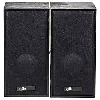 Музыкальные колонки BAGD M5 черные для компьютера ноутбука музыки мультимедийные универсальные USB jack 3.5