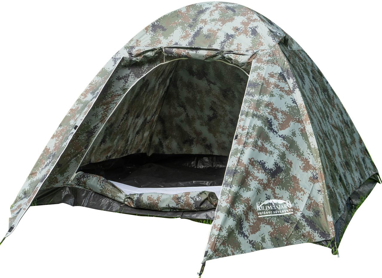 Палатка KILIMANJARO 2017 (210-240-150см) 4-х местн  SS-06Т-123-3 4м