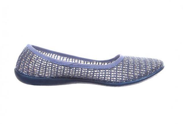 Балетки текстиль OLDCOM женские Сетка синие, фото 2
