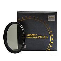 Нейтрально-серый светофильтр ZOMEI с переменной плотностью 82 мм ND2 - ND400