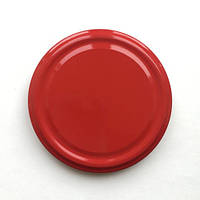 Крышка твист 100 мм красная