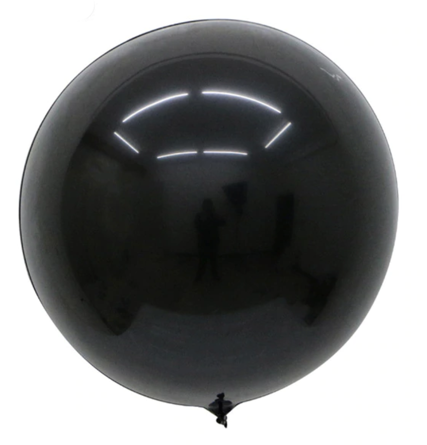 Шар Bubbles BL черный Китай, 50 см (20')
