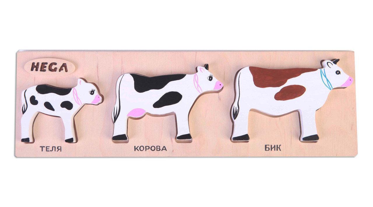 """Набор рамка-вкладыш """"Коровы"""""""