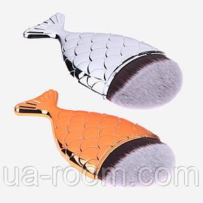 Кисть для макияжа универсальная (рыбка), фото 2