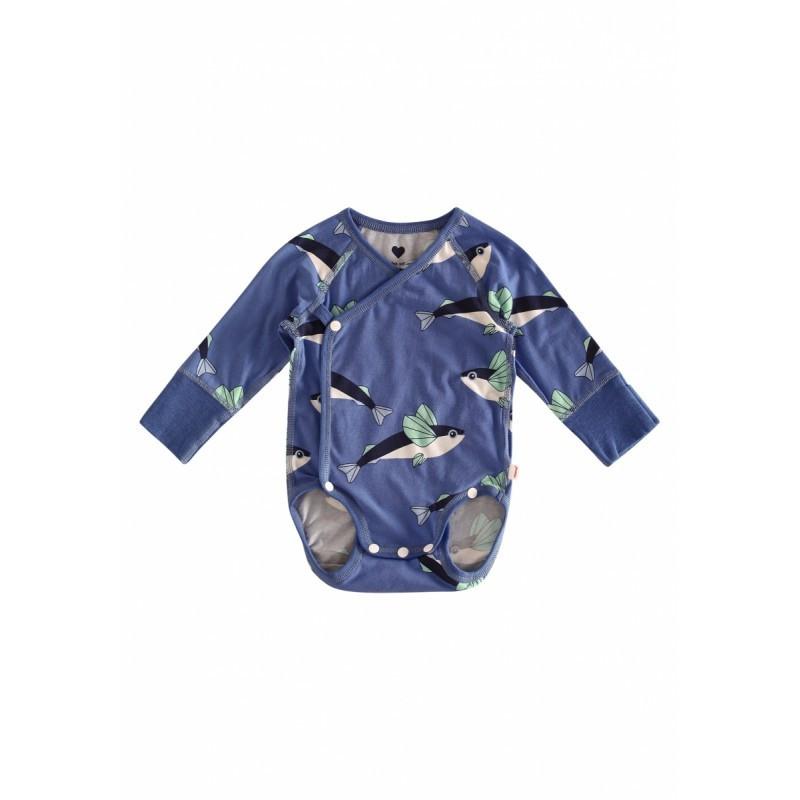 Боди с рисунком-принтом для малышей Ruoko  Reima 62* (516281-6551)