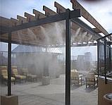 Комплект для туманообразования 10м. 10 форсунок 0.6мм. с насосом. Черный., фото 3