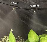 Комплект для туманообразования 10м. 10 форсунок 0.6мм. с насосом. Черный., фото 7