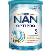 Молочная смесь Nestle NAN 3 с 12 месяцев, 400 г