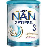 Молочная смесь Nestle NAN 3 с 12 месяцев, 800 г