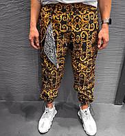 Штаны мужские спортивные | брюки мужские летние свободные дизайнерские. Турция. Живое фото (Брюки чоловічі)