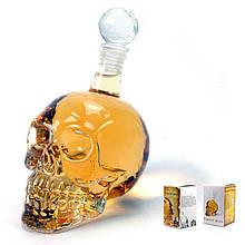 Графин в форме черепа Graff Crystal с пробкой 550 мл