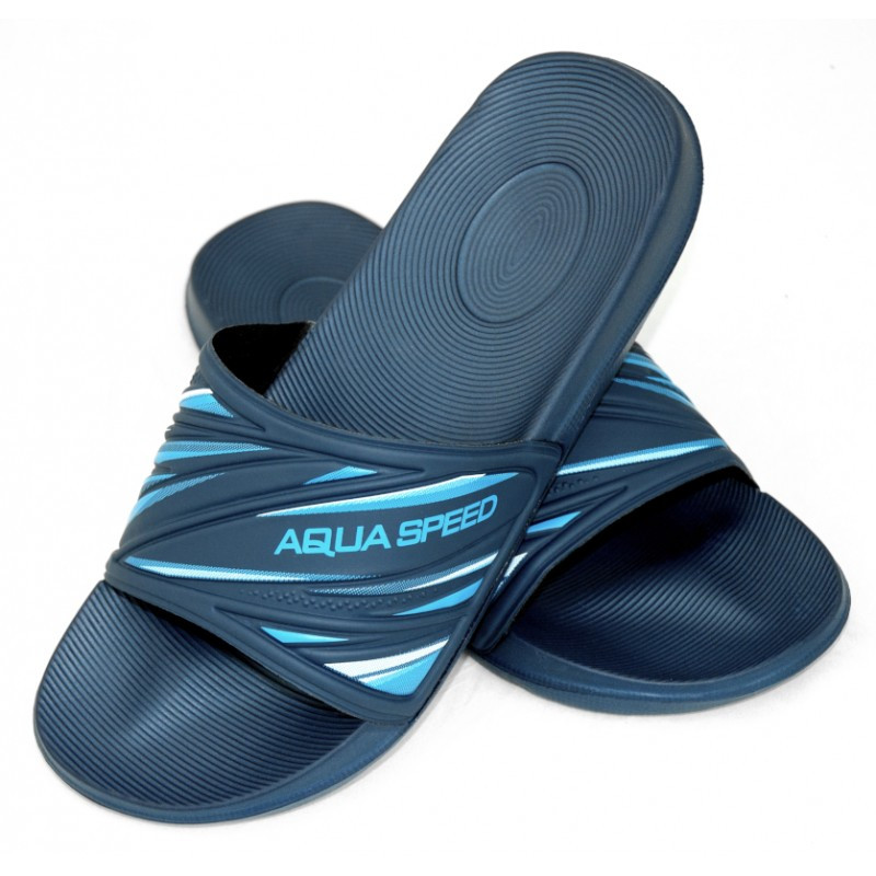 Шлепанцы мужские Aqua Speed Idaho 45 Темно-синий (aqs108)