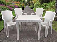 Комплект садовый King + 4 кресло Eden