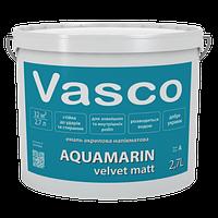 VASCO AQUAMARIN Velvet Matt Полуматовая эмаль для дерева 2,7л База С