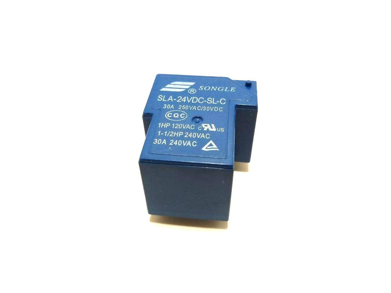Реле SLA(T90)-24VDC-SL-C, 30A, контакты 1С