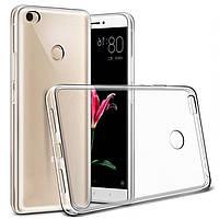 Чехол-накладка Case для Xiaomi Mi Max 2 силиконовый прозрачный