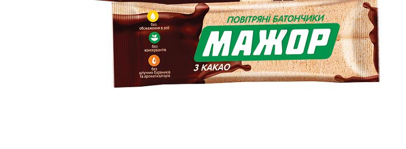 """Печенье фасованное """"Мажор"""" с какао 49г """"АВК"""""""