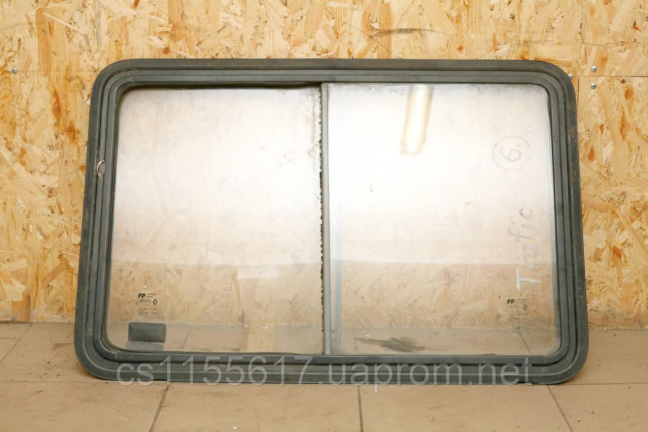 Сдвижное стекло (сдвижной блок) б/у 55х80 см на Renault Trafic -1996