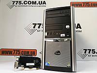 Игровой компьютер, Intel Core2Duo E8400 3.0GHz (2 ядра), RAM 4ГБ, SSD 120ГБ (HDD 500ГБ), GeForce GT 420 1GB, фото 1