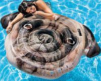 Матрас надувной Мопс, плотик для плаванья, подарок для детей, фото 1