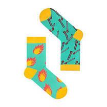 Носки LOVE - ЛЮБОВЬ разнопарные с рисунком, Длинные, Сердечко, Женские Шкарпетки жіночі, фото 3