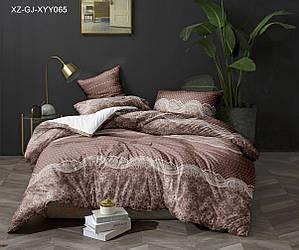 Полуторный комплект постельного белья «Мираж» 147х217 см из сатина