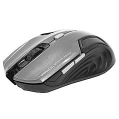 ➨Миша бездротова iMICE E-1500 Grey настільна ігрова 1600 DPI, 6 кнопок комп'ютерна