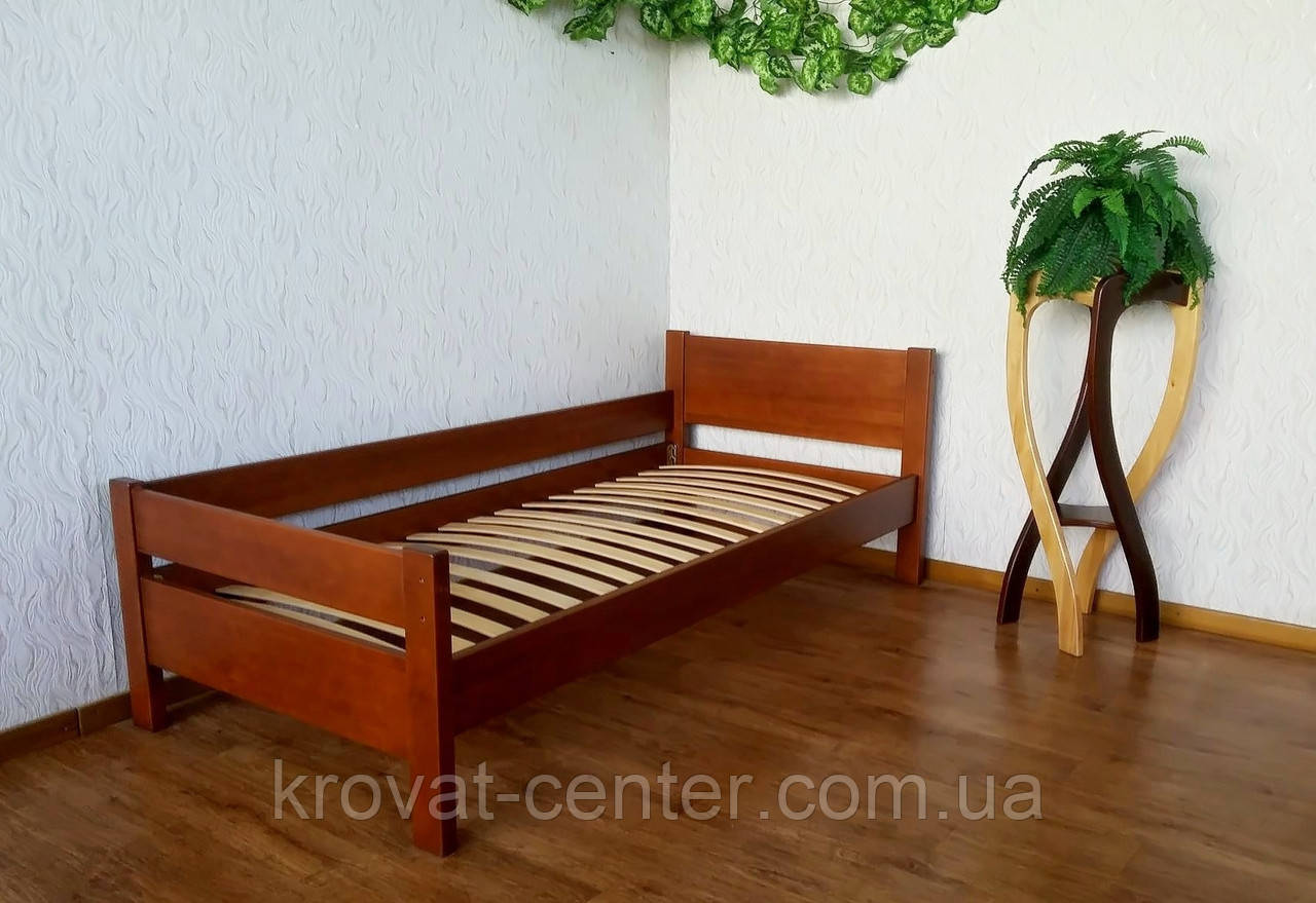 """Детская кровать с боковой панелью """"Эконом"""""""