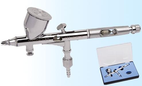 Аэрограф профессиональный металлический 0.25 мм, FENGDA