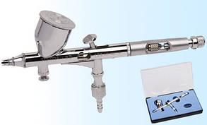 Аэрограф профессиональный металлический 0.2мм, FENGDA