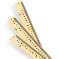 Лінійка дерев'яна Міцар 15 см