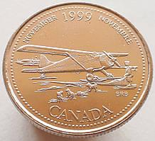 Канада 25 центов 1999 - Ноябрь 1999, Авиасообщение с севером