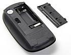 Беспроводная ультратонкая мышь мышка G132 Black, фото 3