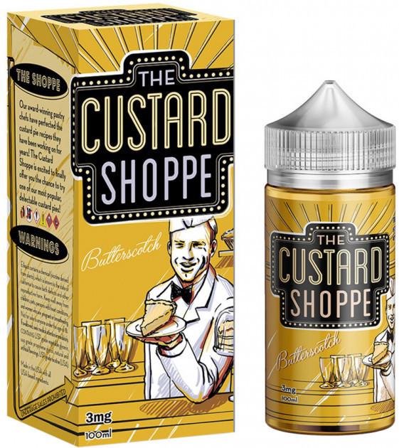 Жидкость The Custard Shoppe Butterscotch 3 мг 100 мл