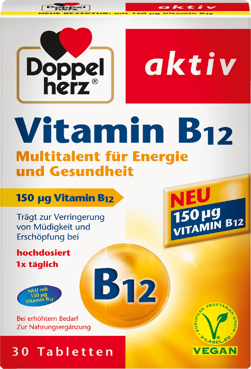 Биологически активная добавка Doppelherz aktiv Vitamin B12, 30 шт.