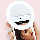 Кольцо с подсветкой для селфи selfie light W-16, фото 4