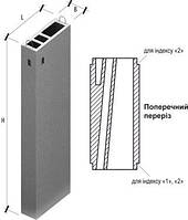 Вентиляционный блок, Вентблоки Вентиляционные блоки железобетонные, фото 1