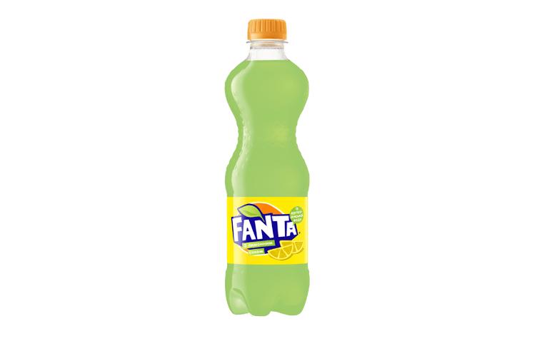 Напиток Fanta с лимонным соком 0,5л