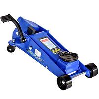 Домкрат профессиональный подкатной Vitol 3,5 т с педалью подъем. 145-500мм ДП-35038
