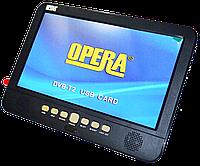 """Портативный DVD-проигрыватель с Т2 Opera 1002 - 13,8"""" Экран- TV - USB - SD"""