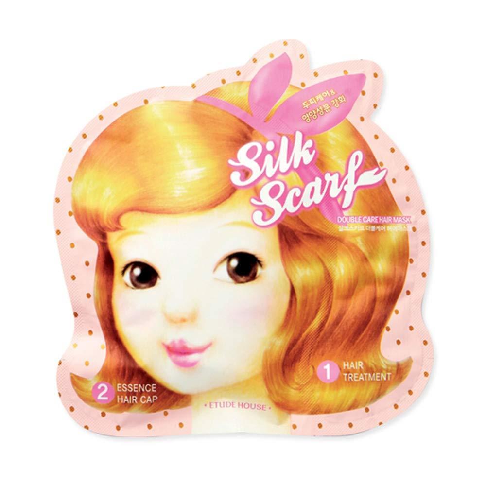 Восстанавливающая маска-шапочка для волос Silk Scarf Double Care Hair Mask