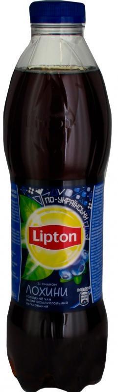 Чай черный со вкусом  голубики 1л Липтон