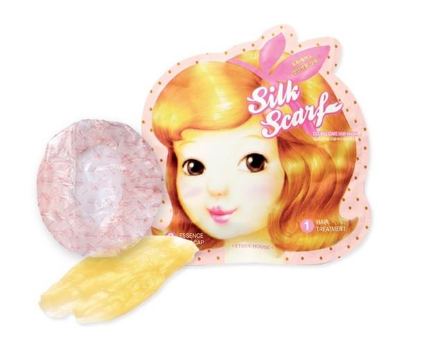 Etude House Silk Scarf Damage Protein Steam Hair Pack