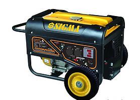 Генератор бензиновий Sigma 5.0/5.5 кВт 4-х тактний електрозапуск Pro-S