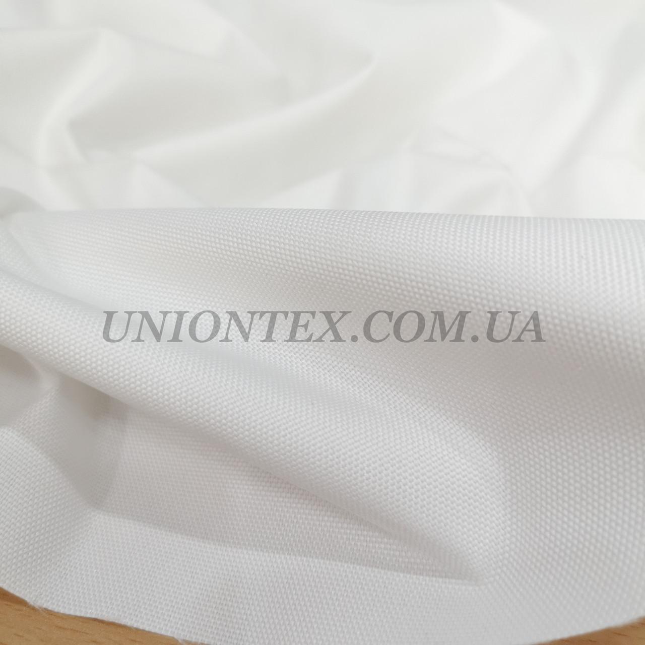 Ткань оксфорд 600D PU белый