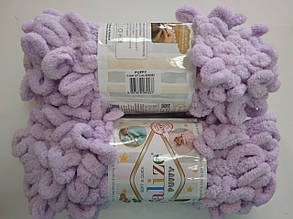 Пряжа для вязания Пуффи Alize сиреневый 27