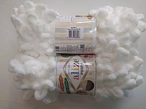 Пряжа для вязания Пуффи Alize белый 55