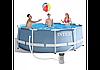 Каркасный бассейн 305*99см + фильтр-насос, лесница, 6500 литров ХИТ 2019 года