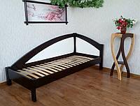 """Подростковая деревянная кровать с мягкой спинкой """"Радуга Премиум"""" от производителя"""